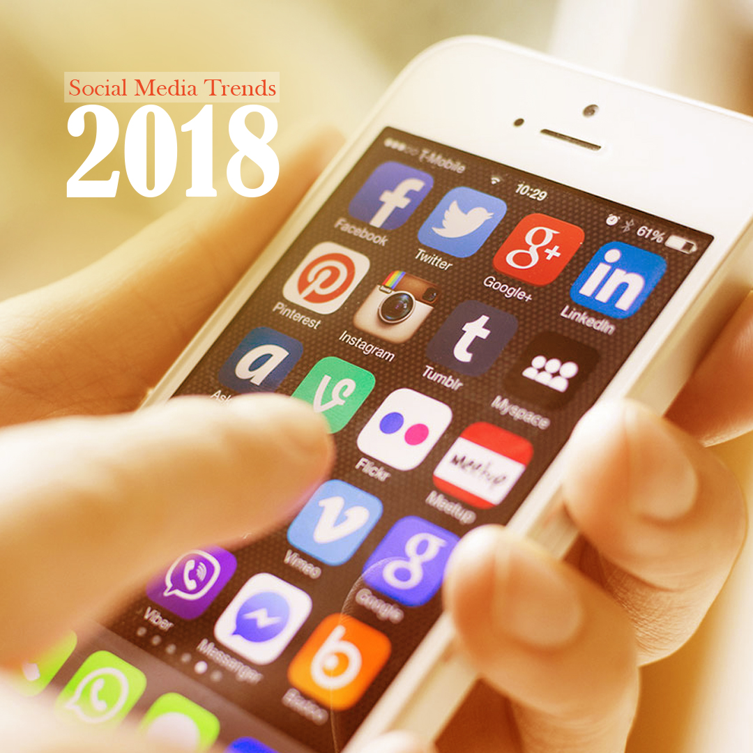Social Media Trends In 2018 VichaarBox Featured